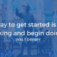 Small Business Inspirations Walt Disney