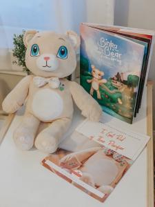Kaitlyn Pierce, Binka Bear and Book