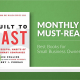 November Monthly Must Reads
