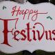 celebrating festivus