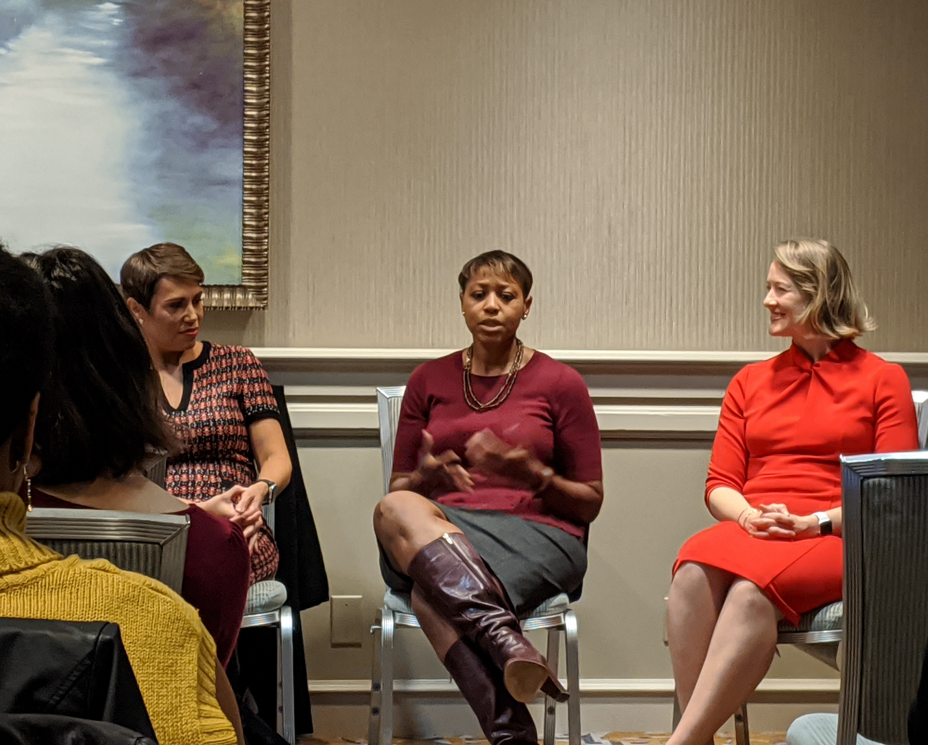 Roxann Smithers participate on panel