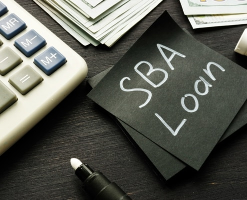 Collateral requirements for SBA loans.